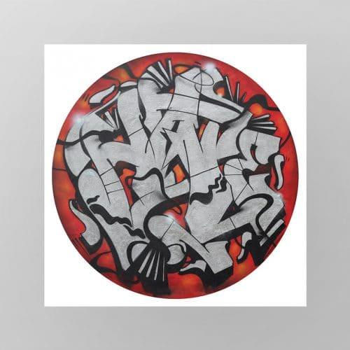 "DRIP'IN Fine art print ""Hate"" artist Demais"