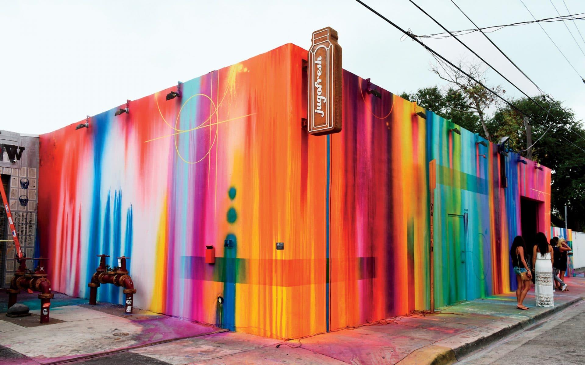 Quand l'art urbain embellit les villes