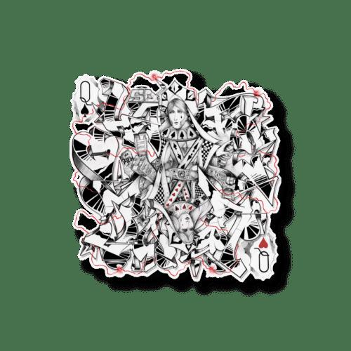 """""""Pallas & Judith"""" white edition. Lithographie acier de l'artiste Demais"""