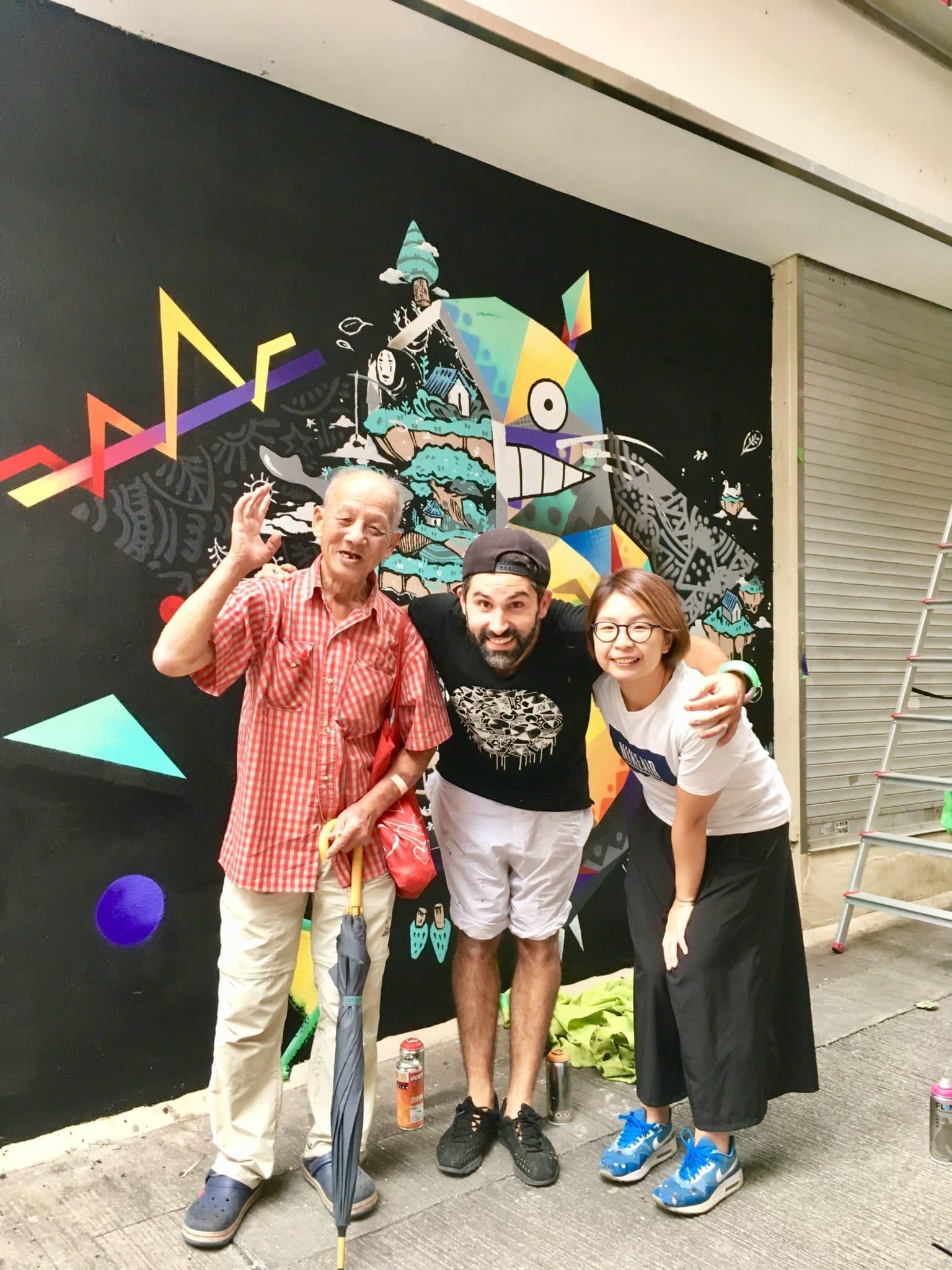 "La ""Happy Story"" de Tim Marsh à Hong Kong"