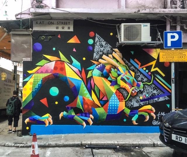 DRIP'IN est inspiré par l'artiste Maser et sa fresque de Noël