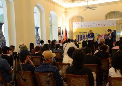 Résidence de France à Saigon - Conférence de presse SUAF21