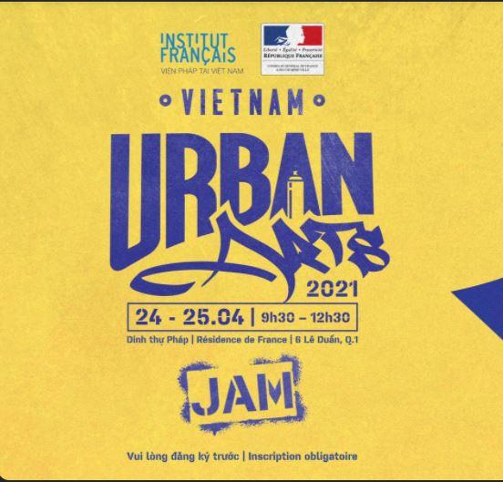 Festival des Arts Urbains de Saigon – Jam Avril 2021