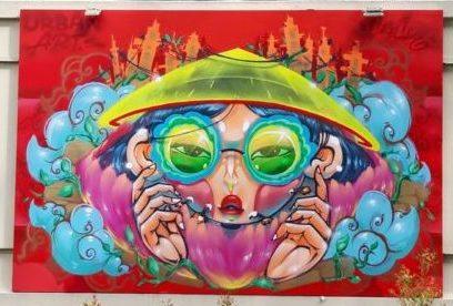 Jam Saigon 2021 - Cresk et sa fresque