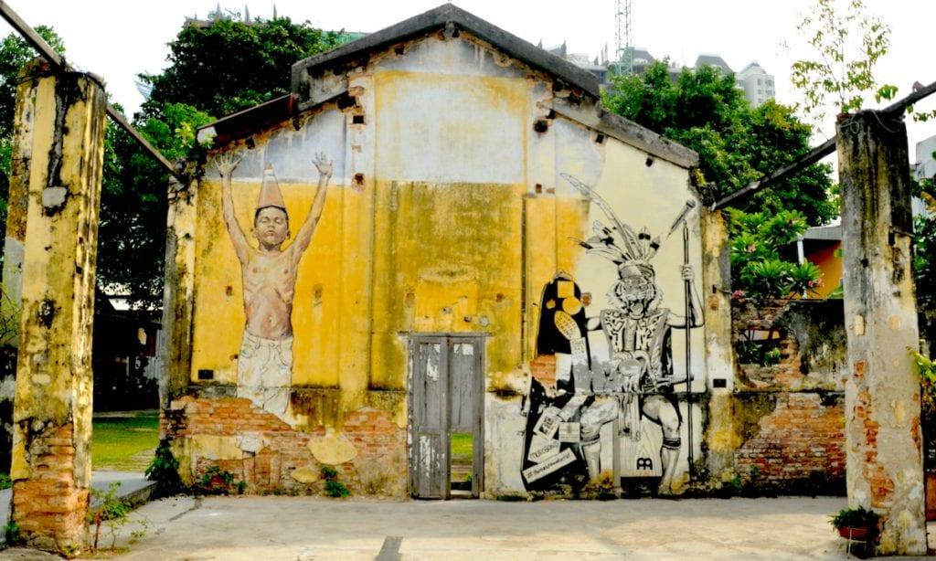 Malaisie - Street art à Penang