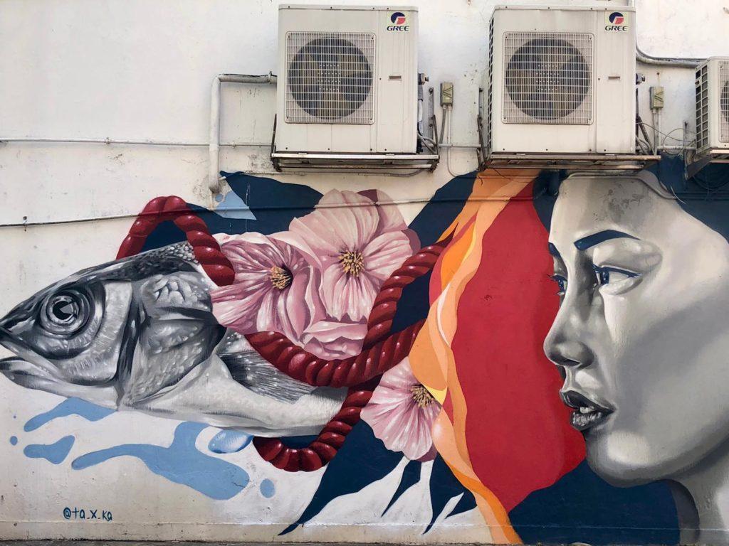 HK walls 2021 street art Hong Kong
