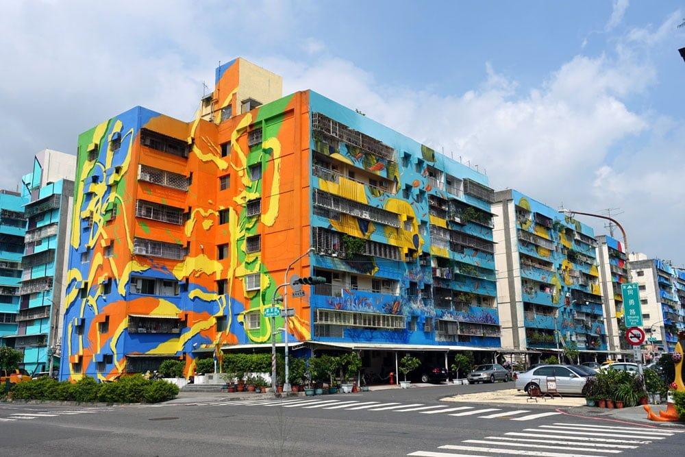 Taiwan - street art à Kaohsiung