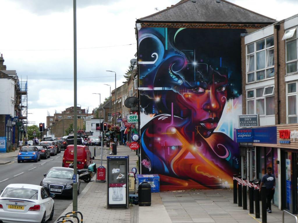 Street art Londres Royaume Uni