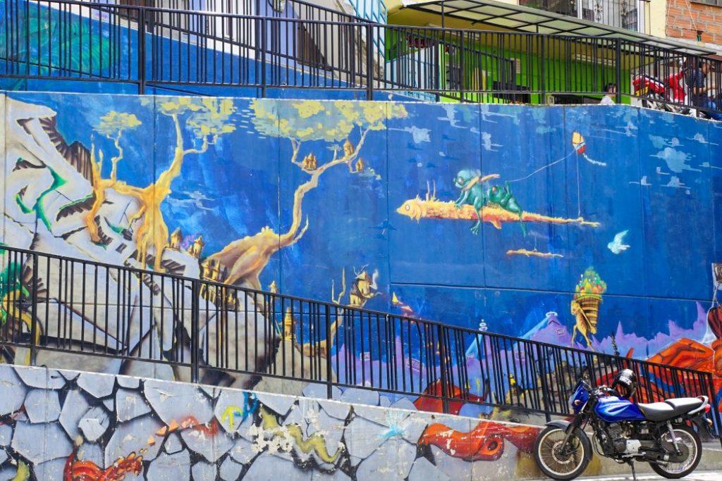 Colombie, Street art Street art à Medellin