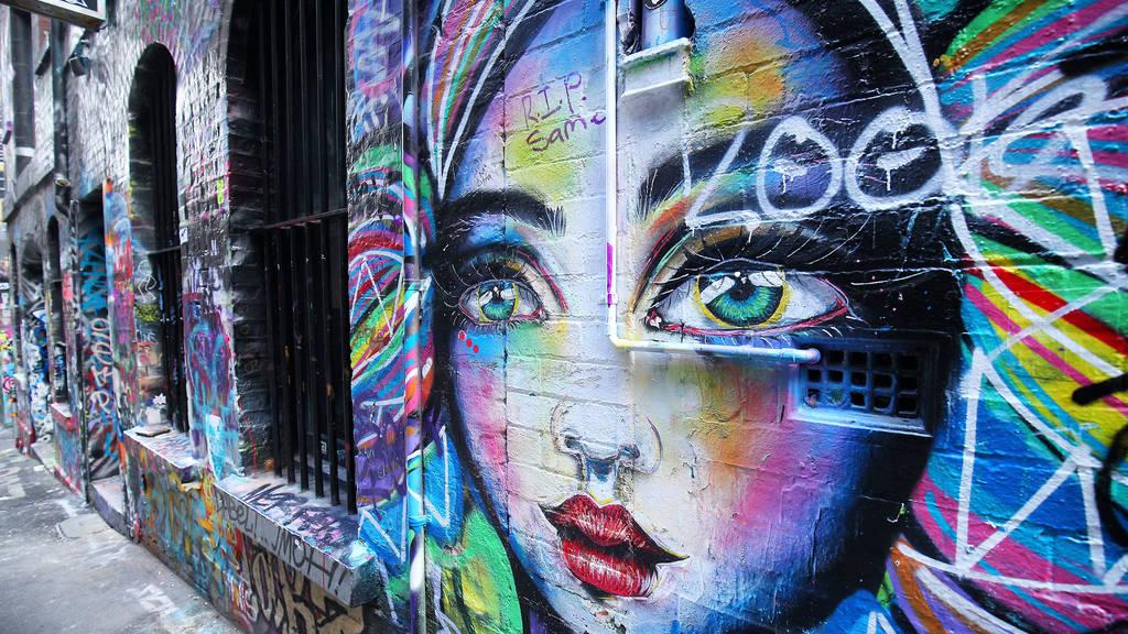 Melbourne street art 2021