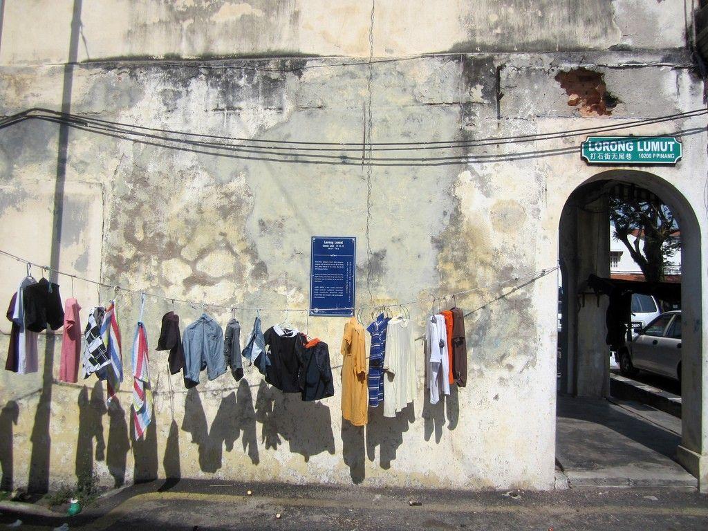 Malaysia street art at Penang