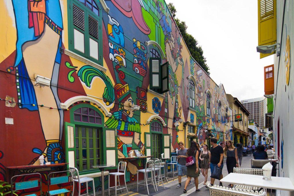Singapour Street Art