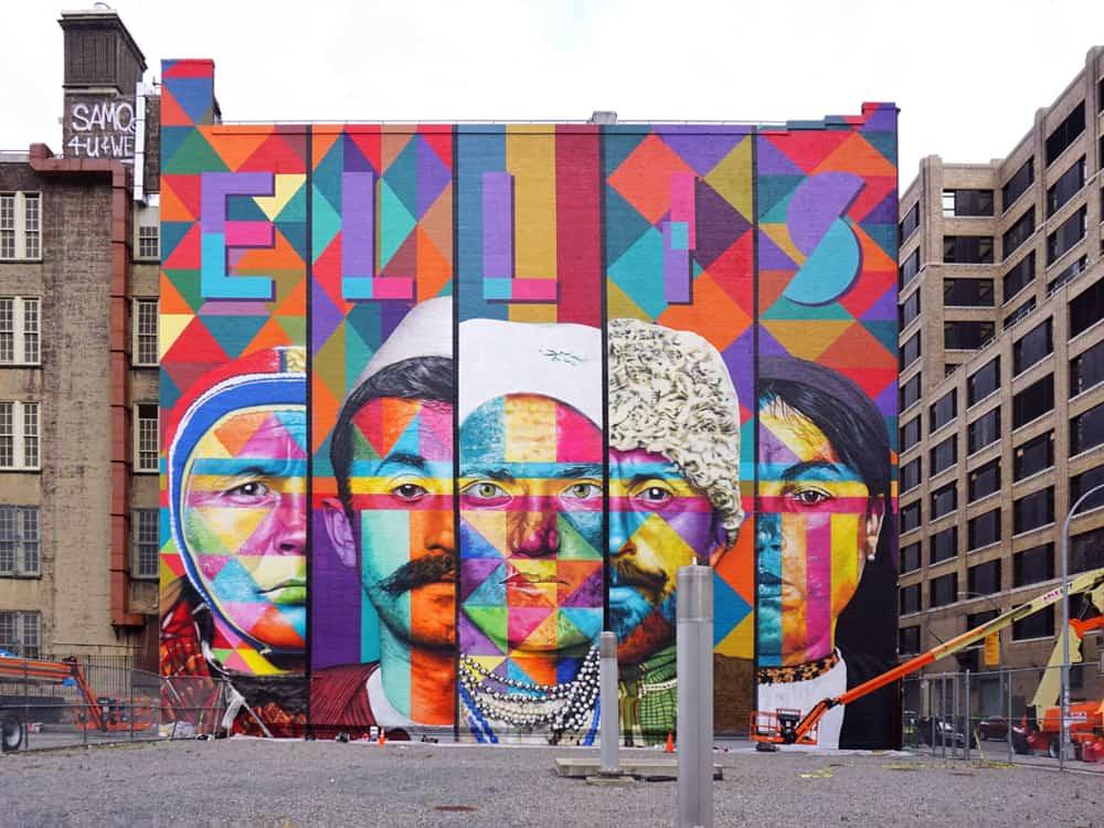 Les villes Street art dans le monde