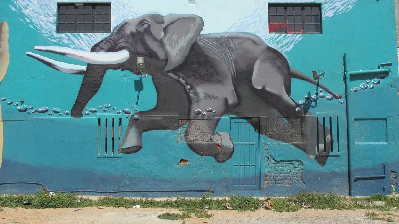 Le Cap street art
