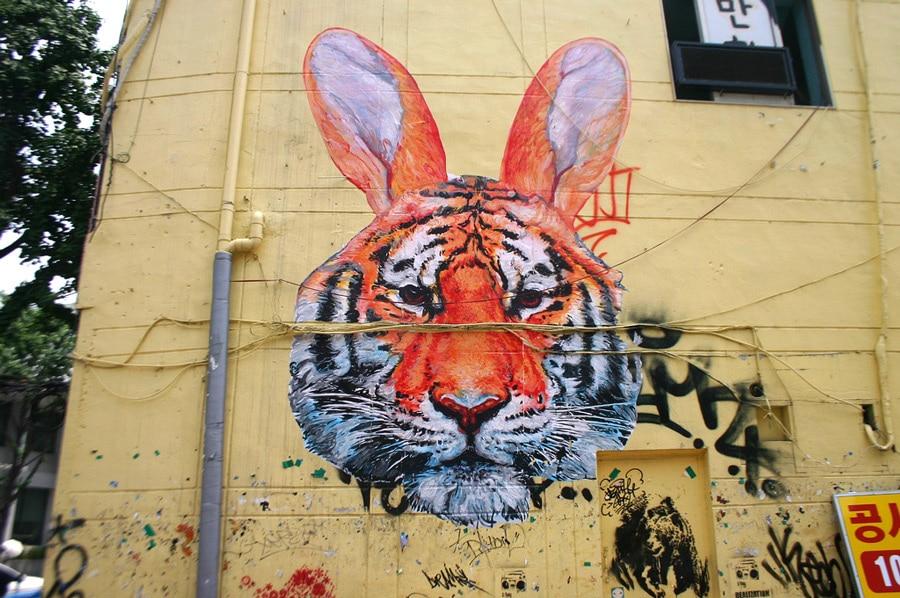 Corée street art - Séoul